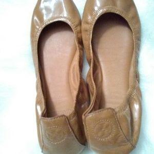 Tory Burch Shoes - Tory  Burch ballet flats sz 11 leather